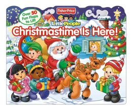 Fisher-Price Lift-the-Flap Christmastime is Here!