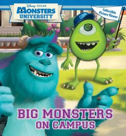 Disney Pixar Monsters University Big Monsters On Campus: Book with Picture Viewer