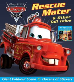 Disney Pixar CARS TOON Rescue Mater & Other Tall Tales