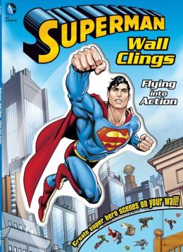 DC Superman Flying into Action