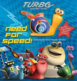 DreamWorks Turbo Need for Speed!: Storybook and Picture Viewer