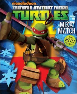 Teenage Mutant Ninja Turtles Mix & Match