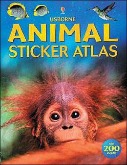 Animal Sticker Atlas