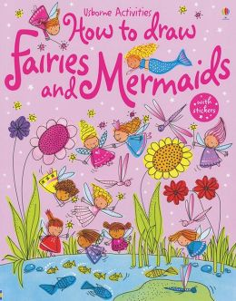 Usborne Activities How to Draw Fairies and Mermaids