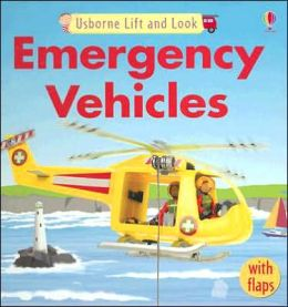 Usborne Lift and Look Emergency Vehicles