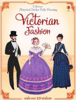 Sticker Dolly Dressing Historical Victorian Fashion