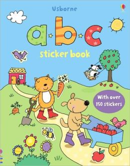 ABC Sticker Book [With Over 150 Stickers]