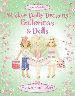 Sticker Dolly Dressing Ballerinas and Dolls