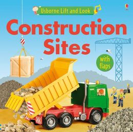Construction Sites Board Book