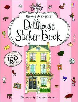 Dollhouse Sticker Book