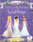 Book Cover Image. Title: Sticker Dolly Dressing Weddings, Author: Fiona Watt