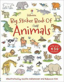 My First Big Sticker Book of Animals CV