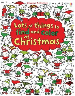 Lots of Things to Find and Color for Christmas