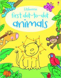 First Dot-to-Dot Animals