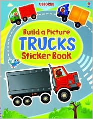 Build a Picture Sticker Trucks