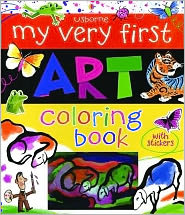 My Very First Art Coloring Book with Stickers