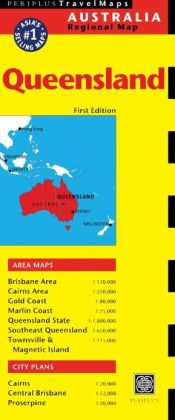 Queensland Travel Map First Edition