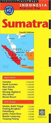 Sumatra Travel Map Fourth Edition