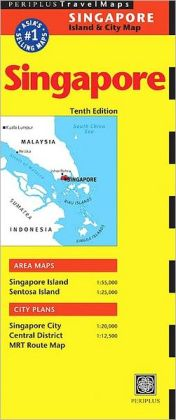 Singapore Travel Map Tenth Edition