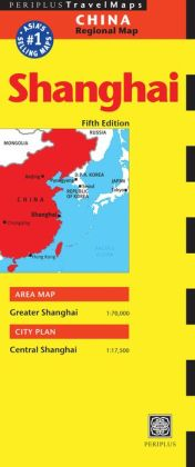 Shanghai Travel Map Fifth Edition