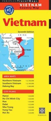 Vietnam Travel Map Seventh Edition