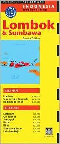 Lombok & Sumbawa Travel Map Fourth Edition