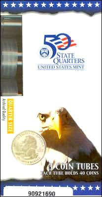 Official U.S. Mint Quarter Coin Tubes