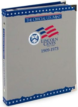 Official U.S. Mint Lincoln Cents Coin Album: 1909-1973