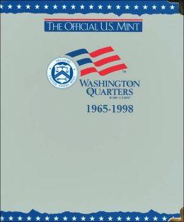 Official U.S. Mint: Washington Quarters Coin Album 1965-1998