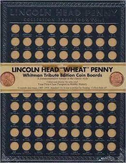Lincoln Head ''Wheat'' Penny Tribute Boards