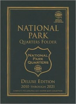 Whitman Blue Folder National Park P and D 2010-