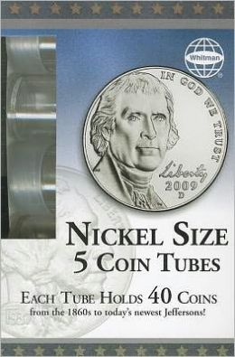 Nickel Coin Tube 5 Count Box