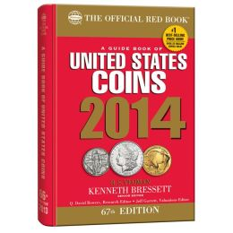 A Guidebook of United States Coins 2014 (Official Red Book Hardcover Spiral Edition)
