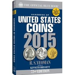Handbook of United States Coins 2015: The Official Blue Book Paperback