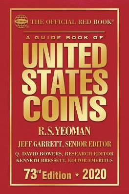 Book The Official Red Book: A Guide Book of United States Coins Hardcover 2020 73rd Edition