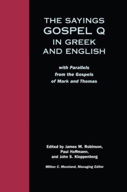 Sayings Gospel Q Greek English