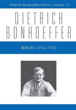 Berlin: 1932-1933