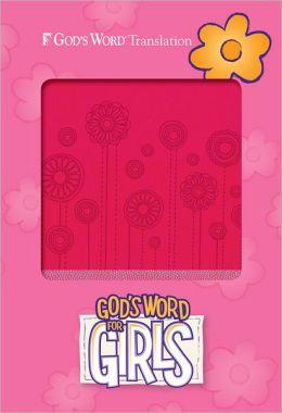 God's Word for Girls Pink/Pearl, Flowerpop Design Duravella