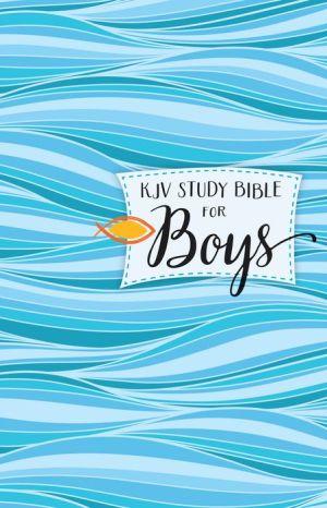 KJV Study Bible for Boys Hardcover