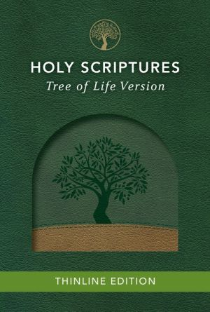 TLV Thinline Bible, Holy Scriptures, Grove/Sand, Tree Design Duravella