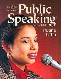 Public Speaking: A Handbook for Christians