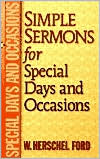 Simple Sermons for Special Days and Occasions