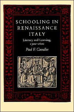 Schooling In Renaissance Italy