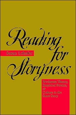 Reading for Storyness: Preclosure Theory, Empirical Poetics, and Culture in the Short Story