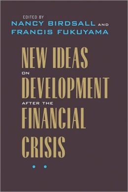 New Ideas on Development after the Financial Crisis