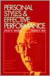 Personal Styles and Effective Performance