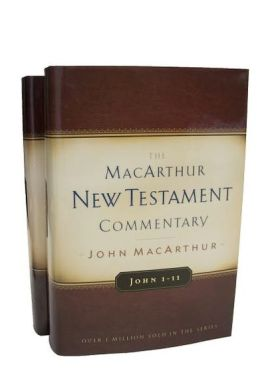 MacArthur New Testament Commentary: Gospel of John 2-Volume Set