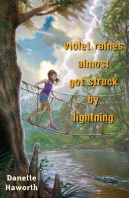Violet Raines Almost Got Struck by Lightning