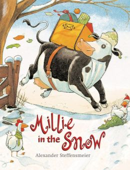 Millie in the Snow