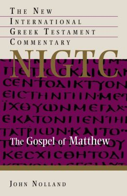 Gospel of Mathew (NIGTC)
